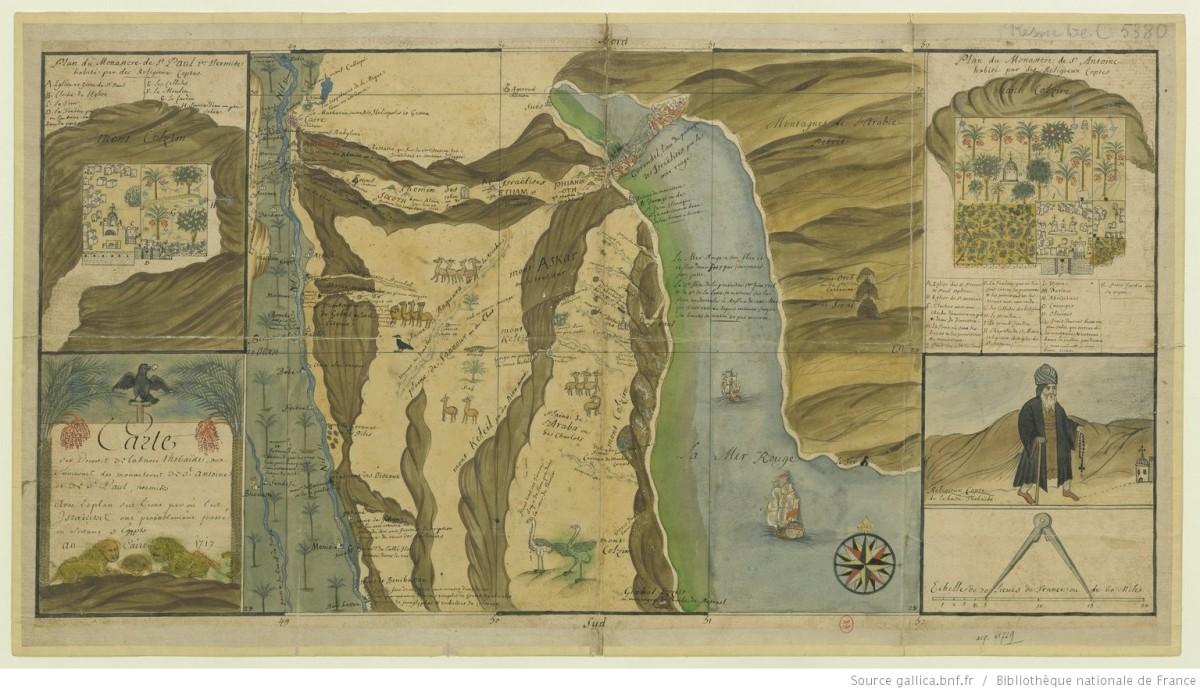 為埃及畫地圖──克勞德‧西卡神父